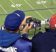 التصوير باستخدام المنظار