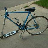 دراجة غريبة أول