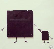 فن من أدوات بسيطة
