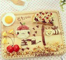 لوحات من فن الطعام