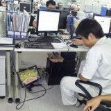 موظف يلعب أثناء دوامه