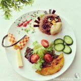 وجبات طعام جميلة