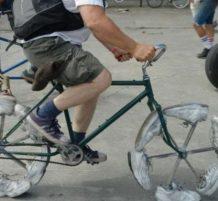 اطارات دراجة هوائية من الأحذية