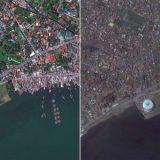 الفلبين قبل وبعد إعصار هيان