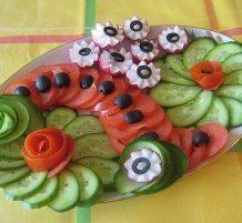 أطباق الخضروات