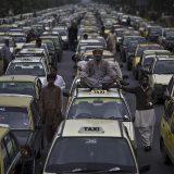 إضراب سائقي التاكسي