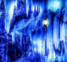 تسلق الجليد