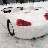 سيارة من الثلج