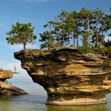 صخرة اللفت
