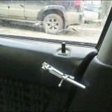 قفل باب السيارة