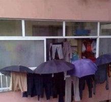 لحماية الملابس من البلل