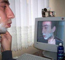 استخدام الحاسوب في الحلاقة