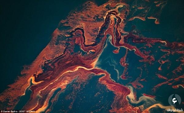 بقع النفط