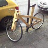 دراجة هوائية خشبية