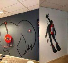 رسومات على الحائط
