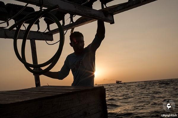 صيادي قطاع غزة