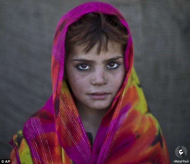 الأطفال الأفغان في الأحياء الفقيرة الباكستانية