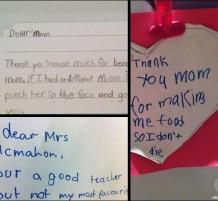 لغات لا تعرف الكذب من رسائل الأطفال