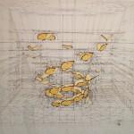 رسم تصاميم هندسية بقلم رصاص