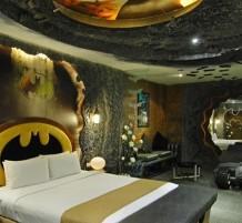 غرفة باتمان في أحد فنادق تايوان