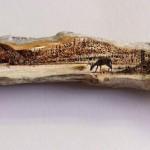 فن الحرق على الخشب