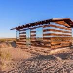 كوخ المرايا الخادعة في صحراء كاليفورنيا