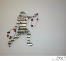 إبداعات فنان لاجئ