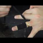 إزالة الخاتم بسهولة إذا كان ضيق