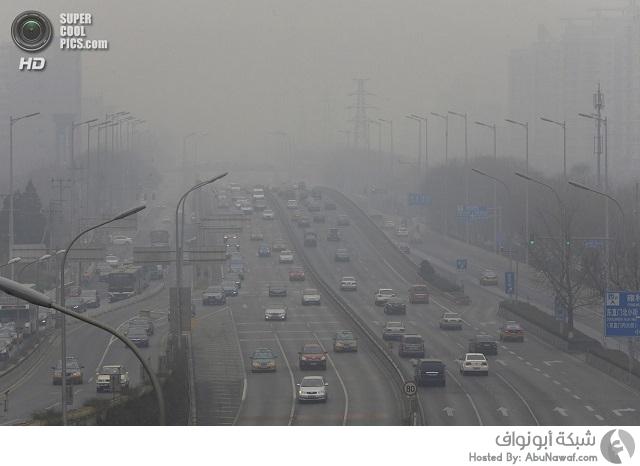 التلوث في بكين