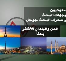 السعوديون وتوجهات البحث على محرك البحث جوجل