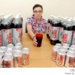 امرأة تشرب 50 علبة كولا في اليوم