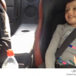 خوف الأطفال من سرعة السيارة