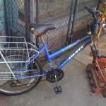 دراجة هوائية تم تحويلها لمقص عشب