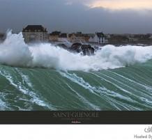 عواصف ورياح قوية تمزّق السواحل الفرنسية