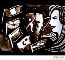 لوحات رملية