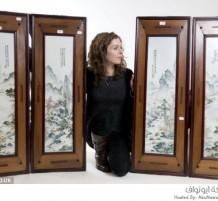 لوحات زخرفية صينية قديمة