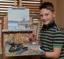 لوحات طفل تبُاع بمليون ونصف جنيه إسترليني