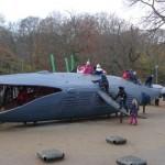 مجسمات ضخمة داخل حدائق الأطفال