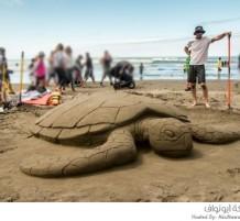 مسابقة نحت الرمل