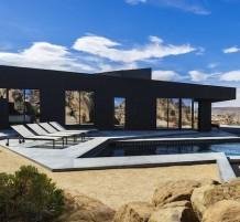 منزل الصحراء الأسود