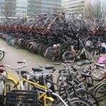 هذا سوق دراجات ام موقف للدراجات الهوائية