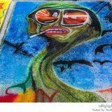 الرسم على الشوارع