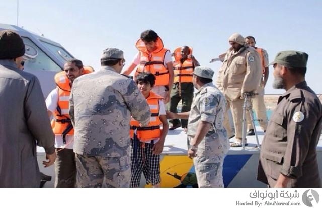 العثور على سعوديين في جزيرة بالبحر الأحمر