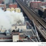 انفجار هائل في نيويورك