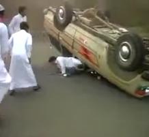 حادث بعد التفحيط