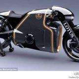 دراجة نارية غريبة