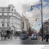 شوارع لندن بين الماضي والحاضر
