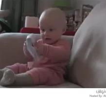 ضحكة طفل