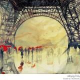 لوحات فنية جمعت بين العمارة والفن