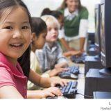 تعليم الأطفال على الحاسوب